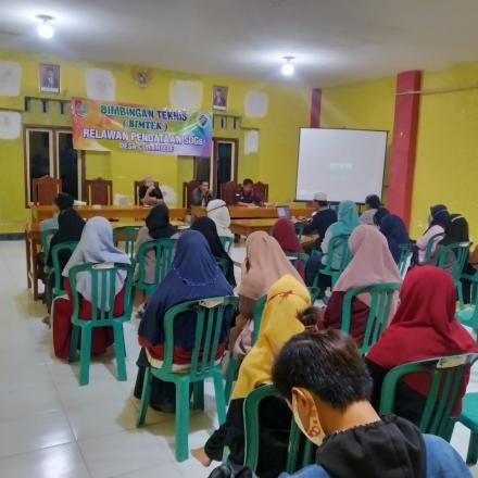 Realisasikan Program Pendataan SDGS Desa, Pemdes Curahlele Gelar Bimtek