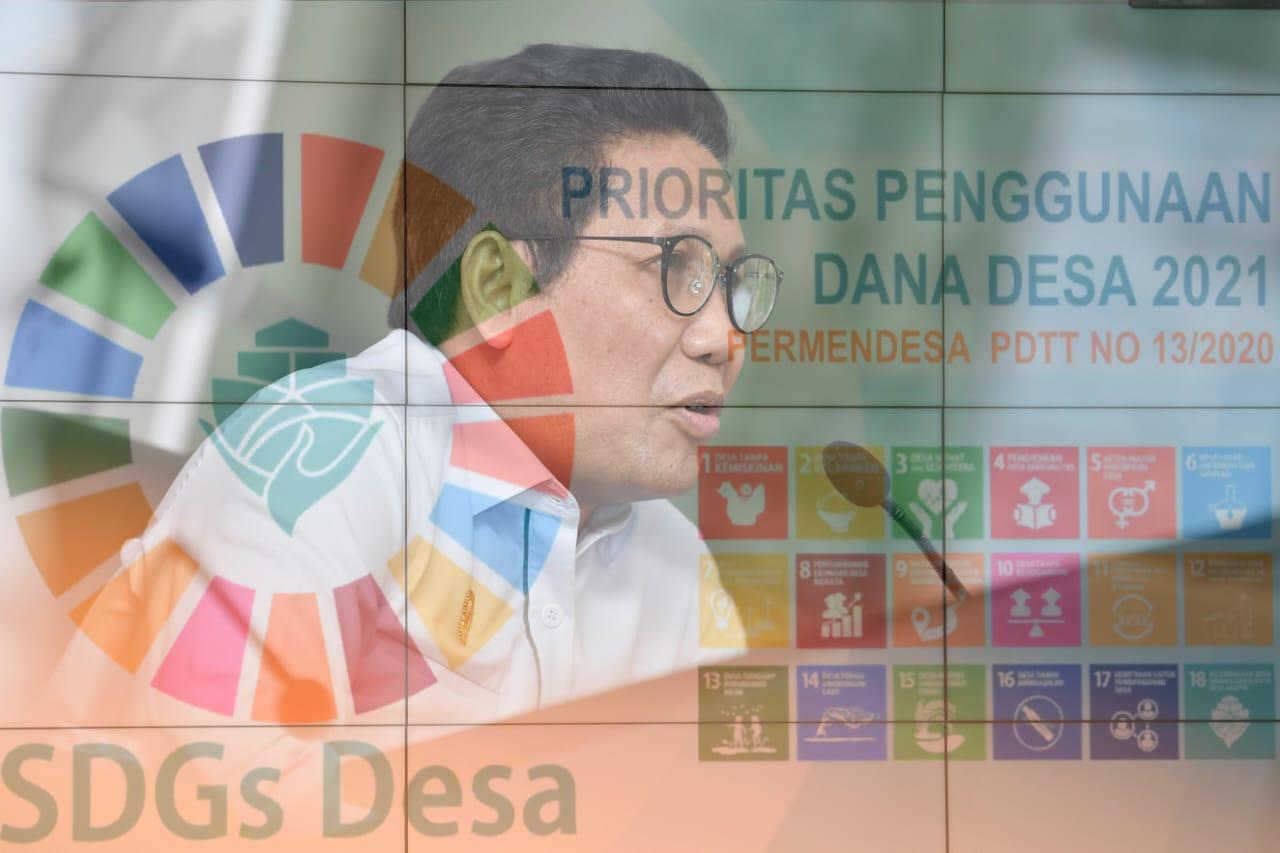 Kemendesa PDTT Prioritaskan Penggunaan Dana Desa 2021 Dorong Capaian SDGS